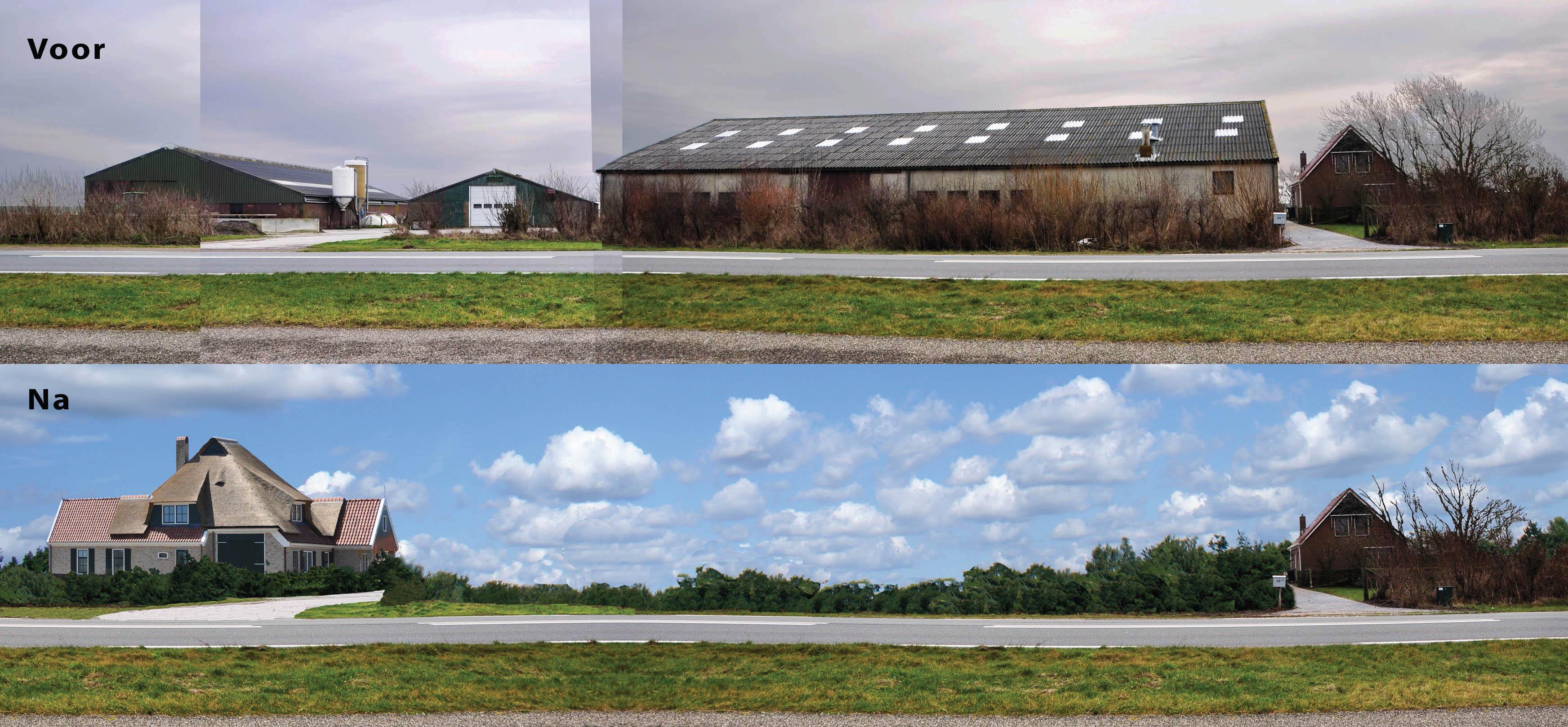 panorama voor en na
